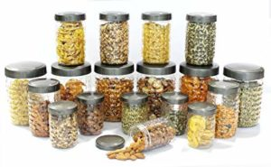 Princeware Iris Plastic Container Set 18 Pieces Rs 380 amazon dealnloot