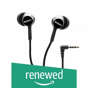 Renewed Sony MDR EX150AP in Ear Headphones Rs 219 amazon dealnloot