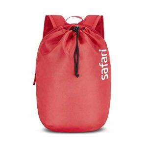 SAFARI 15 Ltrs Cherry Red Casual Backpack Rs 261 amazon dealnloot