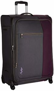 Skybags Cube Polyester 78 cms Purple Soft Rs 2999 amazon dealnloot