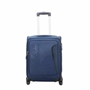 Skybags Footloose Hamilton 55 cms Blue Softsided Rs 1899 amazon dealnloot