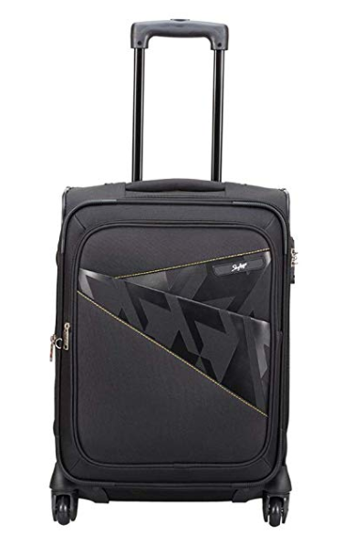 Skybags Footloose Wellington 56 cms Black Softsided Carry-On