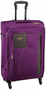 Skybags Rubik Polyester 58 Cms Purple Softsided Rs 1999 amazon dealnloot