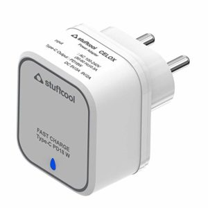Stuffcool Mobile Charger Type C PD 18W Rs 599 amazon dealnloot