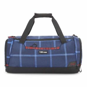 The Vertical Chequered Polyester 53 cms Navy Rs 319 amazon dealnloot