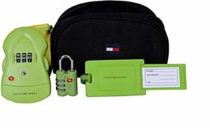 Tommy Hilfiger Lime Luggage Lock and Strap Rs 270 amazon dealnloot
