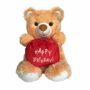 Ultra Happy Birthday Pouch Holding Teddy Red Rs 170 amazon dealnloot