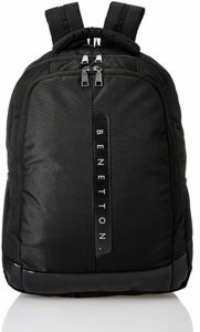 United Colors of Benetton 24 Ltrs Black Rs 499 amazon dealnloot