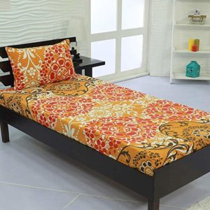 Valito Microfiber 90 GSM Single Bedsheet 235 Rs 99 amazon dealnloot