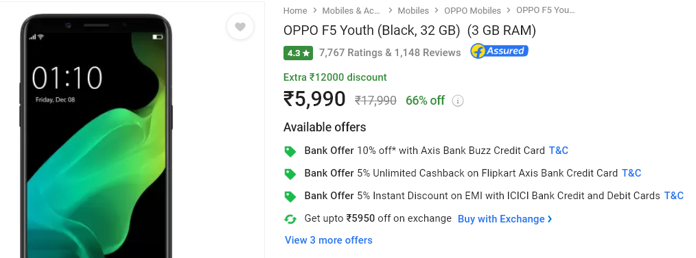 oppo f5 youth proof