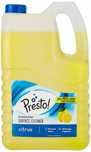 Amazon Brand Presto Disinfectant Surface Cleaner 5 Rs 319 amazon dealnloot