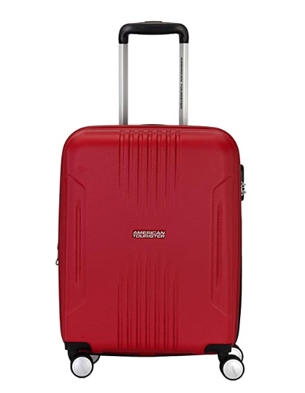 American Tourister Tracklite ABS 30 cms Flame Red Hardsided Check-in Luggage
