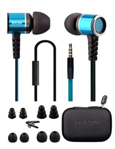 BASN Earbud Headphones with Microphone and Remote Rs 249 amazon dealnloot