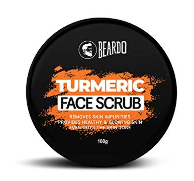 Beardo Turmeric Face Scrub For Men, 100 gm