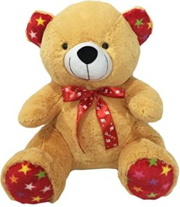 Benny N Bunny Teddy with Bow Light Rs 239 amazon dealnloot