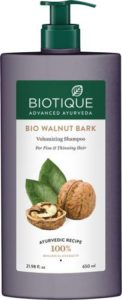 Biotique Bio Walnut Bark Volumizing Shampoo 650 Rs 279 flipkart dealnloot