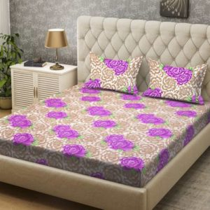 Bombay Dyeing 136 TC Polyester Double Floral Rs 249 flipkart dealnloot