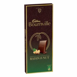 Cadbury Bournville Raisin and Nuts Dark Chocolate Bar