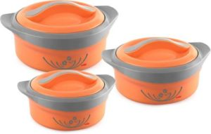 Cello Hot Feast Pack of 3 Thermoware Rs 474 flipkart dealnloot