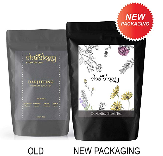 Chaiology Darjeeling Whole Leaf Black Tea, 50g (25 Cups)