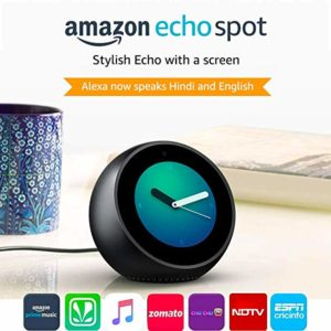 Echo Spot Smart Alarm Clock with Alexa Rs 6499 amazon dealnloot