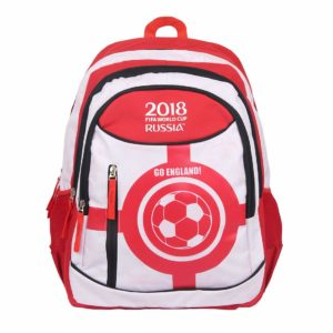 FIFA 40 Ltrs White::Red School Backpack (MBE-FF005) at Rs 304