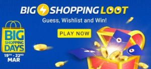 Flipkart Big shopping loot