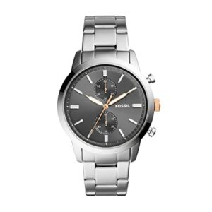 Fossil 44mm Townsman Analog Grey Dial Men Rs 5795 amazon dealnloot
