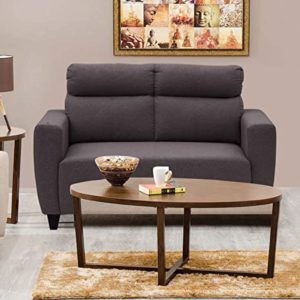 Home Centre Emily Fabric Sofa 2 Seater Rs 16000 amazon dealnloot