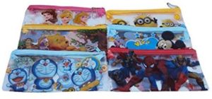 Jiada Reutrn Gifts for Kids Birthday Party in Bulk Utility Cum Pencil Pouches