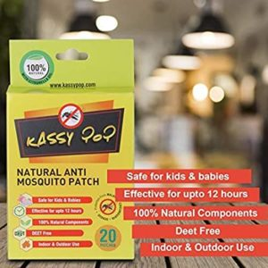 Kassy Pop Natural Repellant Mosquito Patches for Rs 55 amazon dealnloot