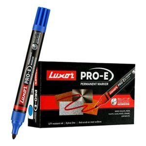 Luxor 1884 Pro E Refillable Permanent Marker Rs 95 amazon dealnloot