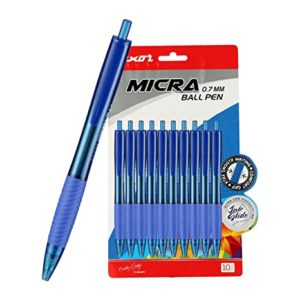 Luxor Micra Ball Pen Blue 10 s Rs 59 amazon dealnloot