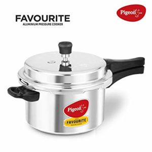 Pigeon by Stovekraft Favourite Alluminum Pressure Cooker Rs 699 amazon dealnloot