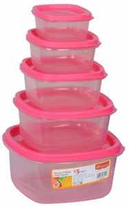 Princeware Microwave Safe Container Set Set of Rs 138 amazon dealnloot
