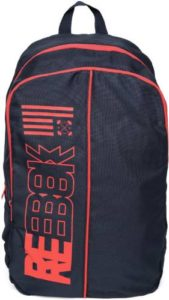 REEBOK PADDED BR 23 L Backpack Blue Rs 439 flipkart dealnloot