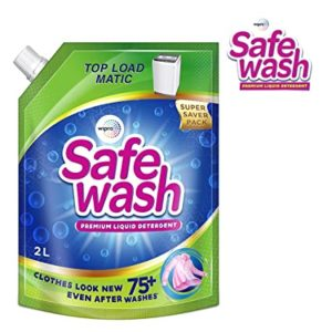 Safewash Matic Top Load Liquid Detergent by Rs 185 amazon dealnloot
