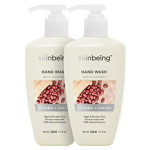 Skinbeing Daily Cleansing Hand Wash Jojoba and Rs 123 amazon dealnloot