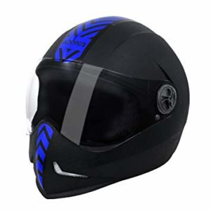 Steelbird SB 50 Adonis Dashing Black Blue Rs 726 amazon dealnloot