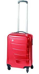 Swiza Justus 20 Hs Red Trolly Bag Rs 2300 amazon dealnloot