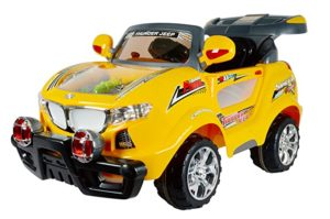 Toy House Officially Licensed Thunder Jeep 6V Rs 8926 amazon dealnloot