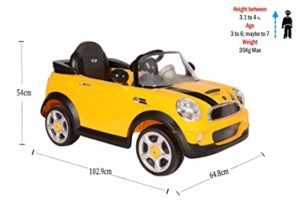 Toyhouse Mini Cooper S Rechargeable Battery Operated Rs 5889 amazon dealnloot