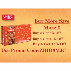Unibic Cookie Crest Gift Box of Assorted Rs 299 amazon dealnloot