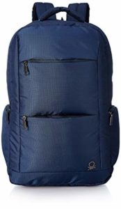 United Colors of Benetton 24 Ltrs Navy Rs 385 amazon dealnloot