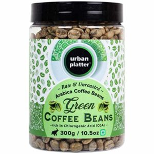 Urban Platter Green Coffee Beans 300g Rs 162 amazon dealnloot