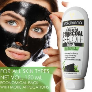 VOLAMENA WITH DEVICE Activated Charcoal Peel Off Mask