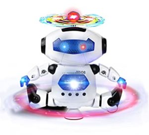 Webby Dancing Robot with 3D Lights and Rs 281 amazon dealnloot