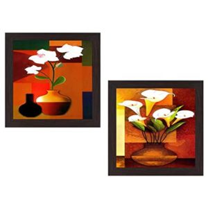 Wens Flower Wall Hanging Painting MDF 35 Rs 138 amazon dealnloot