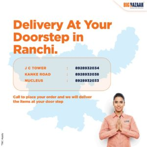 delivery Ranchi