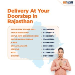 delivery rajasthan